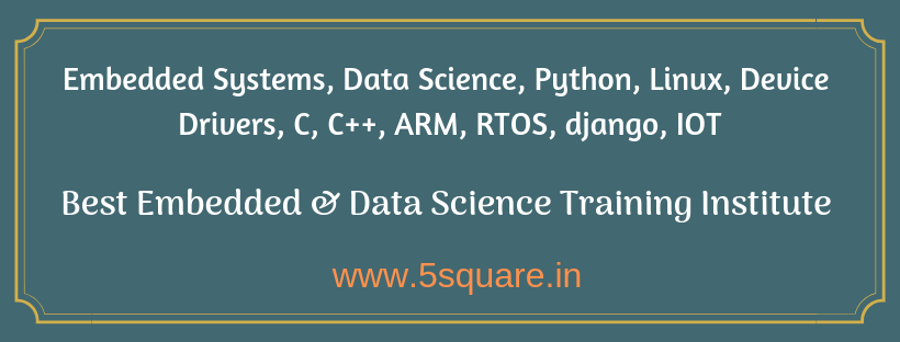 Embedded Systems training in Bangalore| Python training in